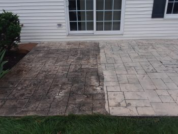 Concrete cleaning, patio cleaning, pressure washing, power washing